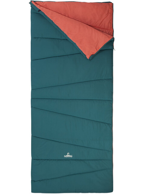 Nomad Melville Sleeping Bag biscaya green/shell pink